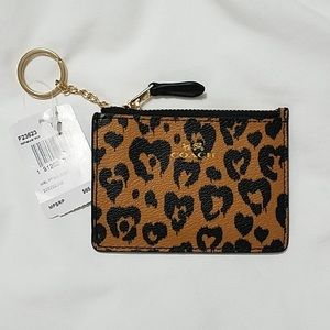 Coach ID/Card Holder Keychain